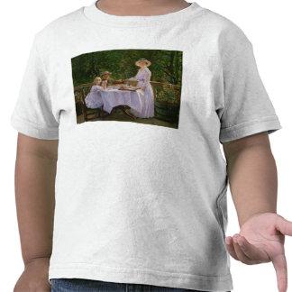 Té de tarde del verano camiseta