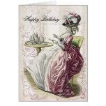 Té de tarde, feliz cumpleaños, felicitaciones