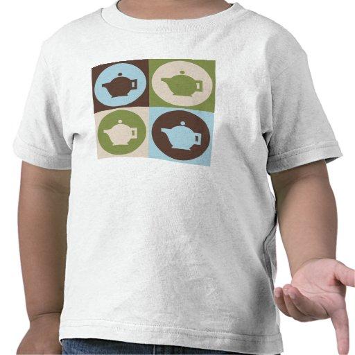 Té del arte pop camiseta