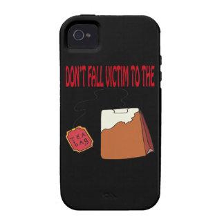 Té empaquetado Case-Mate iPhone 4 fundas