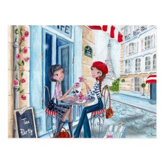 Té en París - postales
