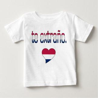 Te Extraño! America Flag Colors Baby T-Shirt