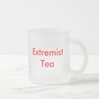 Té extremista taza de café esmerilada