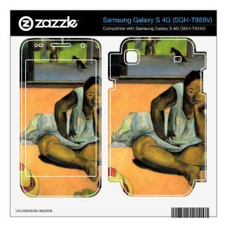 Te Faaturama by Eugène Henri Paul Gauguin Samsung Galaxy S 4G Decal