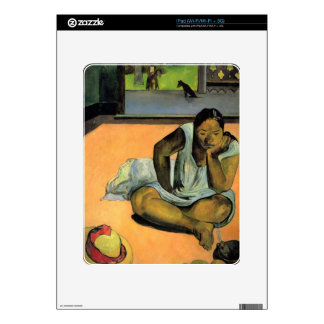 Te Faaturama by Eugène Henri Paul Gauguin Decal For The iPad