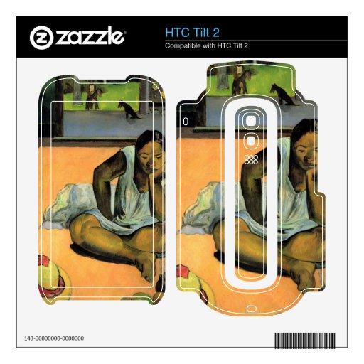 Te Faaturama de Eugène Enrique Paul Gauguin HTC Tilt 2 Skins