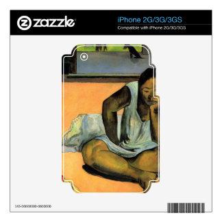 Te Faaturama de Eugène Enrique Paul Gauguin Calcomanía Para iPhone 2G