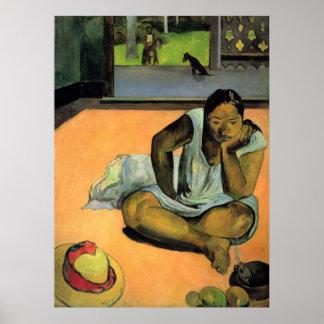 Te Faaturama de Eugène Enrique Paul Gauguin Poster