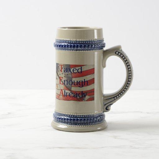 TÉ - gravado bastantes ya con la bandera Stein de  Tazas De Café