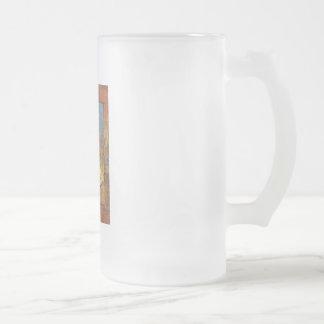 Té helado taza de cristal