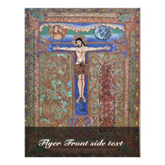 Te Igitur y Cristo en la cruz por DES K de Meister Tarjeta Publicitaria