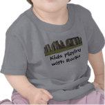 Te infantil Stonehenge, niños que juegan con las Camisetas