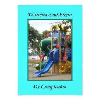"""Te invito a  Mi Fiesta Cumpleaños Invitación 5"""" X 7"""""""