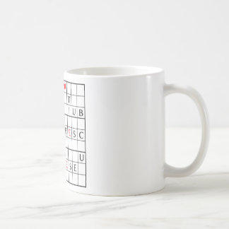 te iubesc coffee mug