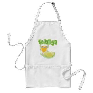 te-kill-ya adult apron