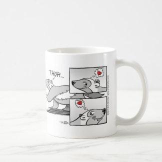 Té para dos tazas de café