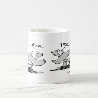 Té para dos taza de café