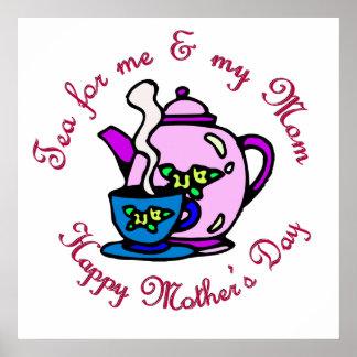 Té para mí y mi mamá - el día de madre feliz poster