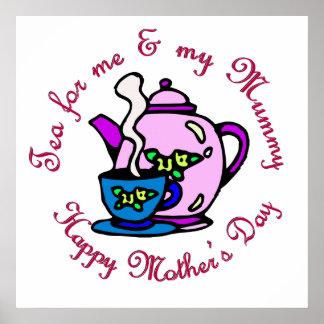 Té para mí y mi momia el el día de madre posters