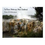 Te Puia, Rotorua, Nueva Zelanda Tarjetas Postales