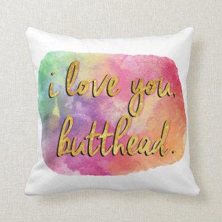 te quiero almohada del butthead