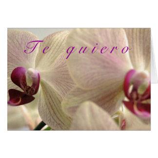 """""""Te Quiero"""" Card"""