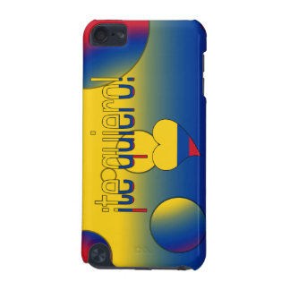 ¡Te Quiero! Colombia Flag Colors Pop Art iPod Touch (5th Generation) Cover