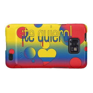 ¡Te Quiero! Ecuador Flag Colors Pop Art Galaxy S2 Case