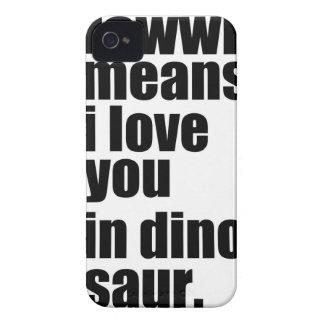 te quiero funda para iPhone 4
