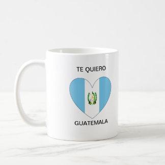 Te Quiero Guatemala Classic White Coffee Mug