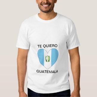 Te Quiero Guatemala Shirt