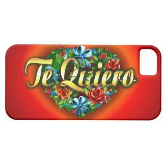 Te Quiero iPhone 5 Case