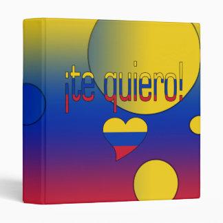 ¡¡Te Quiero! La bandera de Venezuela colorea arte