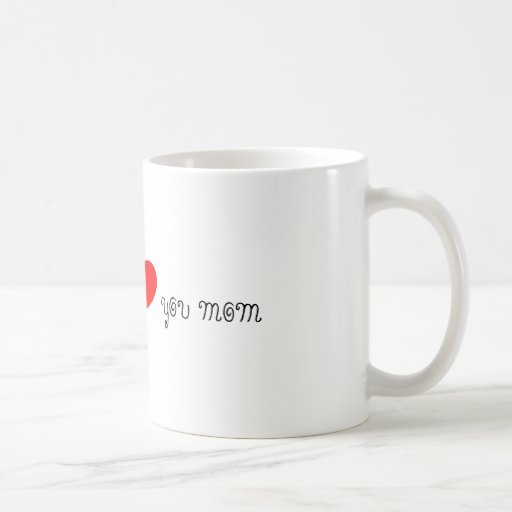 te quiero mamá taza