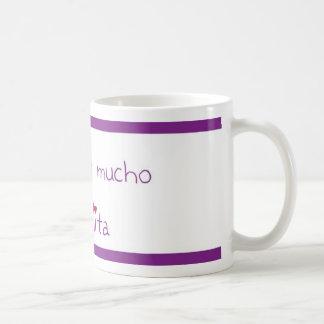 Te quiero mucho abuelita classic white coffee mug