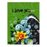 te quiero tanto 4 tarjetas postales