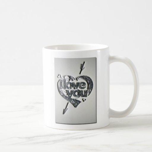 te quiero taza de café