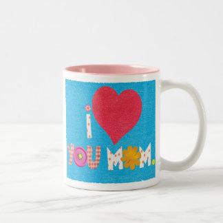 te quiero taza de café de la mamá