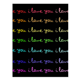 te quiero te quiero te quiero postal