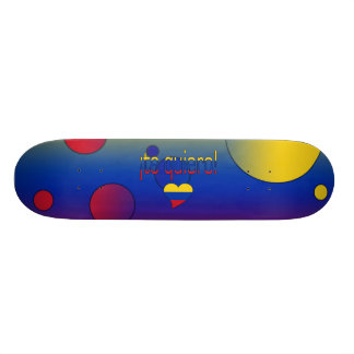 ¡Te Quiero! Venezuela Flag Colors Pop Art Skateboard Deck