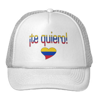 ¡Te Quiero! Venezuela Flag Colors Trucker Hat