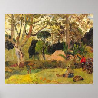Te Raai Rahi de Eugène Enrique Paul Gauguin Posters