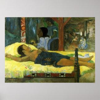 """""""Te Tamari ninguna impresión de Atua"""" - Paul Gaugu Poster"""