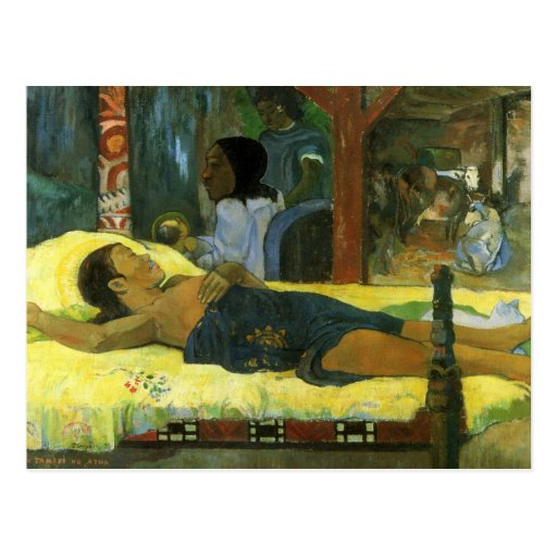 """Te Tamari ninguna postal de Atua"" - Paul Gauguin"