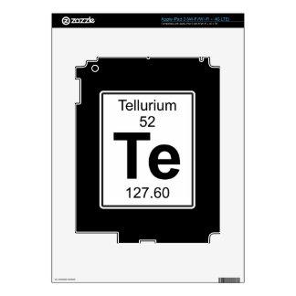 Te - telurio iPad 3 pegatina skin