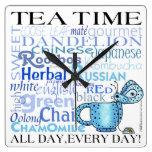 ¡Té Tiempo-Todo día, cada día! Reloj