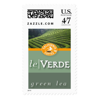te Verde - California Coffee Postage
