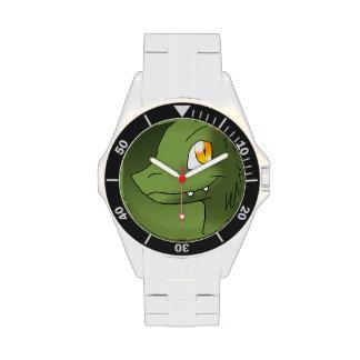 Té verde Microraptor Relojes De Pulsera