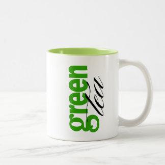 Té verde tazas de café