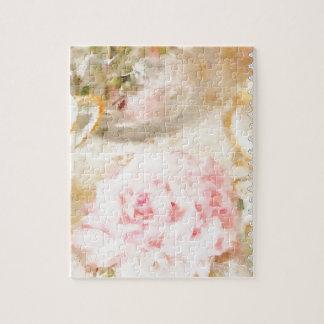 Té y buñuelos puzzles con fotos